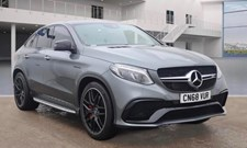Mercedes-Benz GLE Class 5.5 (585ps) GLE63 AMG S Night Edition (s/s) Coupe 4d 5461cc 4MATIC Speedshift+ 7G-Tronic