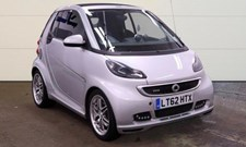 Smart Fortwo 1.0 (102bhp) BRABUS Xclusive Cabriolet 2d 999cc Softouch