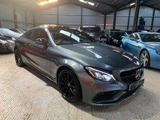 Mercedes-Benz C Class 4.0 (476ps) C63 AMG (Premium)(s/s) Coupe 2d 3982cc AMG Speedshift MCT