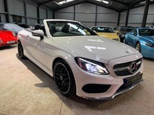 Mercedes-Benz C Class 2.1d (170ps) C220d AMG Line (s/s) Cabriolet 2d 2143cc 9G-Tronic Plus ONE OWNER & FABULOUS