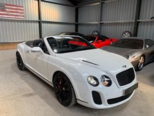 Bentley Continental 6.0 Supersports Convertible 2d 5998cc auto