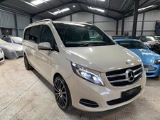 Mercedes-Benz V Class 2.1d (190ps) V250 BlueTec Extra Long Sport MPV 5d 2143cc 7G-Tronic SUIT FURNITURE RESTORER WITH CHILDREN