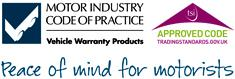 Motor Industry Code of Practice, Vehicle Warranty Products. | Aproved Code, TradingStandards.gov.uk | Peace of mind for motorists.
